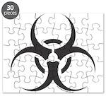 Bio Hazard Icon Puzzle