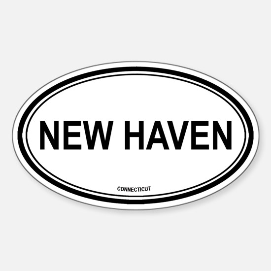 New Haven (Connecticut) Oval Decal