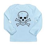 Skull & Cross Bones Long Sleeve Infant T-Shirt