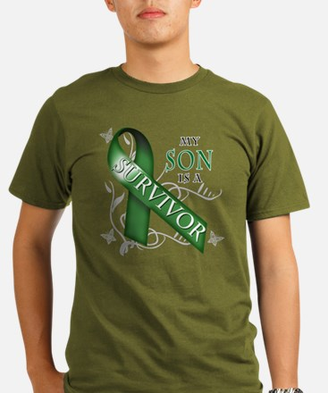 My Son is a Survivor (green).png T-Shirt