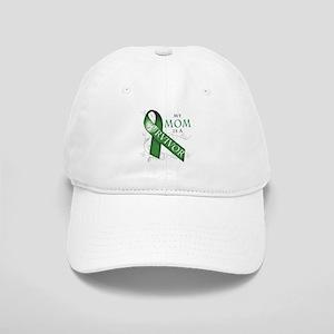 My Mom is a Survivor (green) Cap