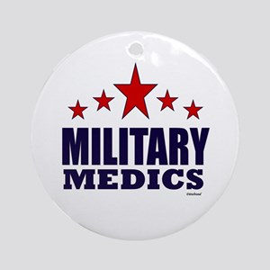 Military Medics Ornament (Round)
