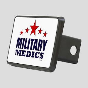 Military Medics Rectangular Hitch Cover