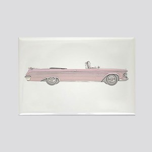 Chrysler New Imperial Crown Rectangle Magnet