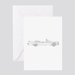 Chrysler New Imperial Crown Greeting Card