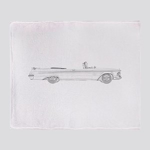 Chrysler New Imperial Crown Throw Blanket