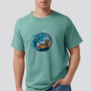 Texas - South Padre Isla Mens Comfort Colors Shirt