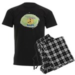 Yoga Chick Men's Dark Pajamas