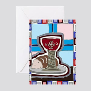 Bread and Wine Greeting Cards (Pk of 20)