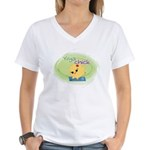 Yoga Chick Women's V-Neck T-Shirt