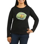 Yoga Chick Women's Long Sleeve Dark T-Shirt