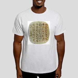 Anglomorphic Cuneiform Shirt Light T-Shirt