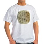 Anglomorphic Cuneiform Shirt Light T-Shirt
