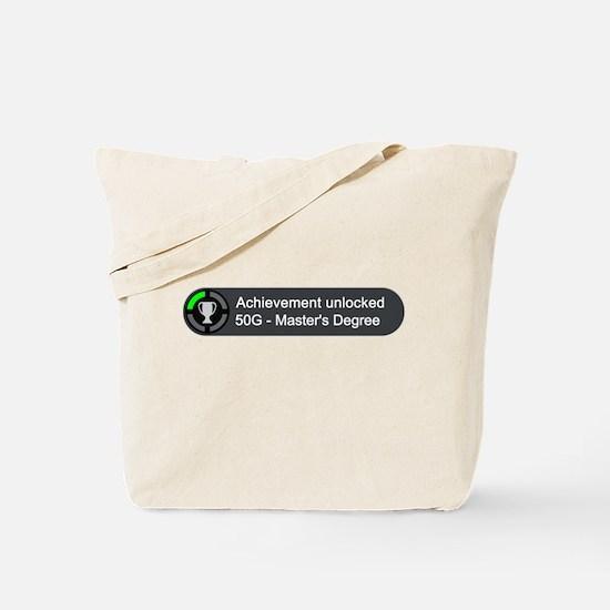Masters Degree (Achievement) Tote Bag