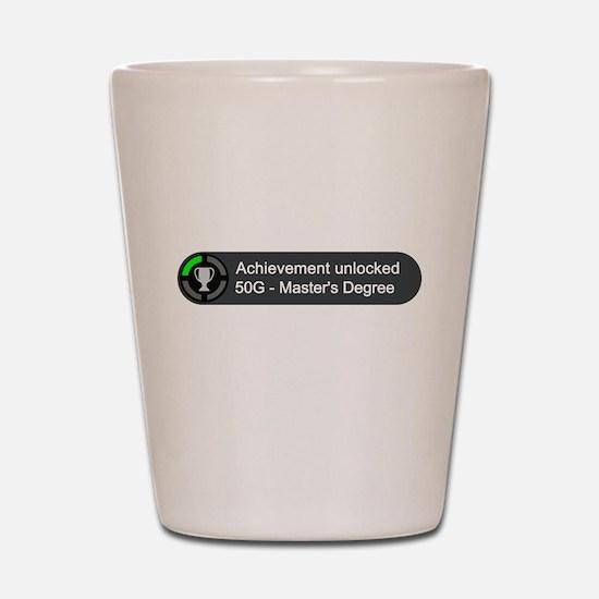 Masters Degree (Achievement) Shot Glass
