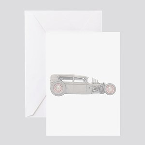 1930 Ford Rat Rod Greeting Card