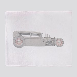 1930 Ford Rat Rod Throw Blanket