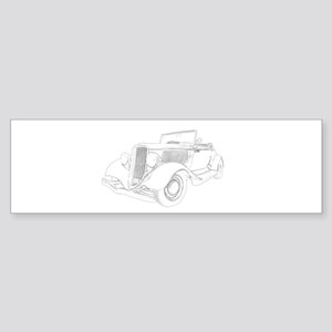 1932 Ford Convertible Sticker (Bumper)