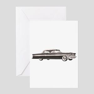 1956 Packard Clipper Greeting Card