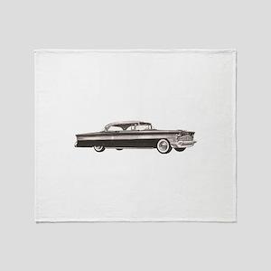 1956 Packard Clipper Throw Blanket