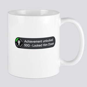 Locked Him Down (Achievement) Mug