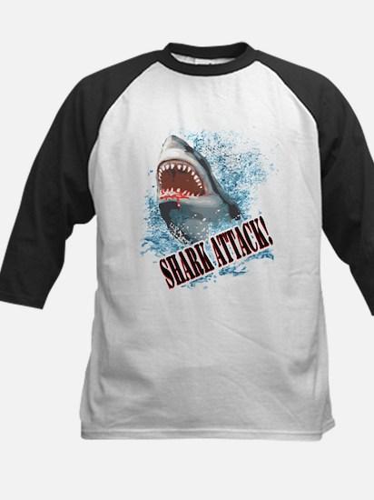Shark Attack! Kids Baseball Jersey