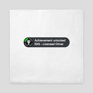 Licensed Driver (Achievement) Queen Duvet