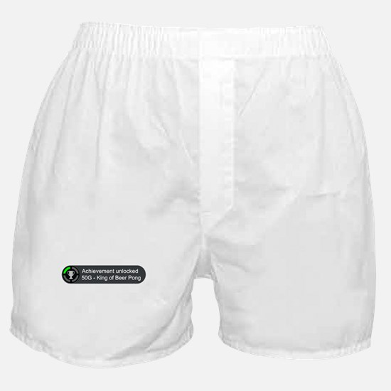 King of Beer Pong (Achievement) Boxer Shorts