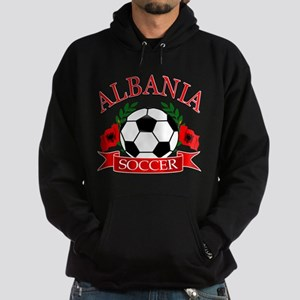 Albania Soccer Designs Hoodie (dark)