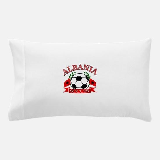 Albania Soccer Designs Pillow Case