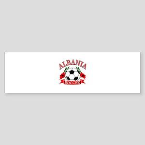 Albania Soccer Designs Sticker (Bumper)