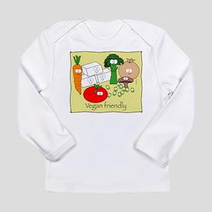 mushroom_veganfriendlybl Long Sleeve Infant T-