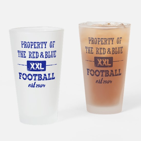 Property of Haiti Soccer Drinking Glass