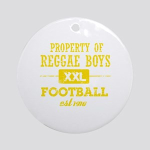 Property of Jamaica Soccer Ornament (Round)