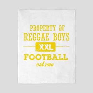 Property of Jamaica Soccer Twin Duvet
