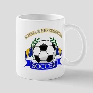 Bosnia Herzegovina Soccer Designs Mug