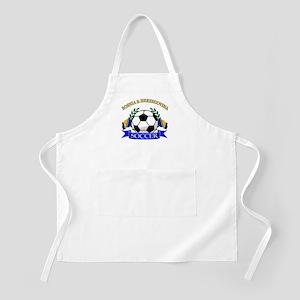 Bosnia Herzegovina Soccer Designs Apron