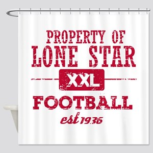 Property of Liberia Soccer Shower Curtain