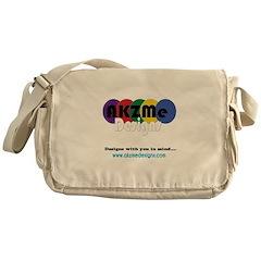 AKZMedesigns LOGO Messenger Bag