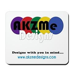 AKZMedesigns LOGO Mousepad
