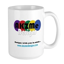 AKZMedesigns LOGO Large Mug