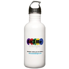 AKZMedesigns LOGO Water Bottle