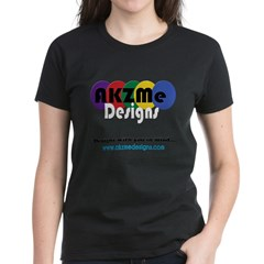 AKZMedesigns LOGO Women's Dark T-Shirt