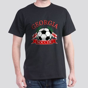 Georgia Soccer Designs Dark T-Shirt