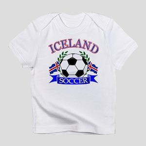 Iceland Soccer Designs Infant T-Shirt