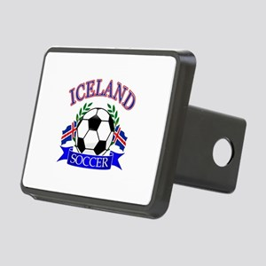 Iceland Soccer Designs Rectangular Hitch Cover
