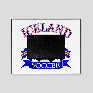 Iceland Soccer Designs Picture Frame