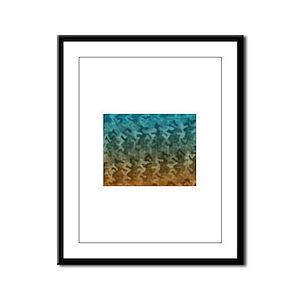 sex. Framed Panel Print