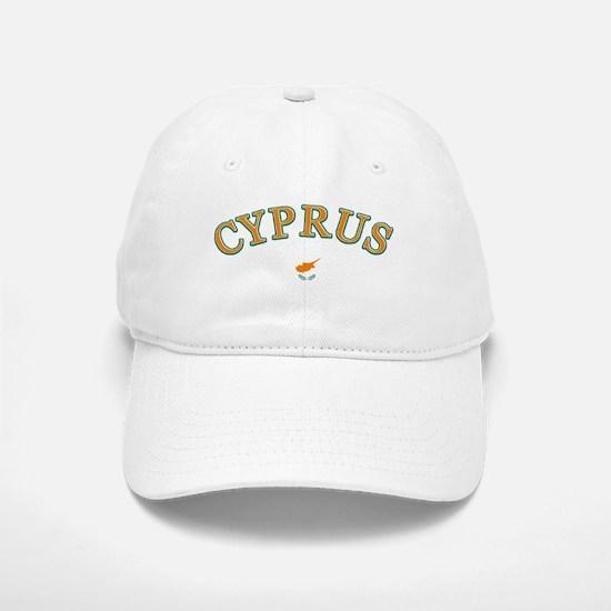 Cyprus Soccer Designs Baseball Baseball Cap
