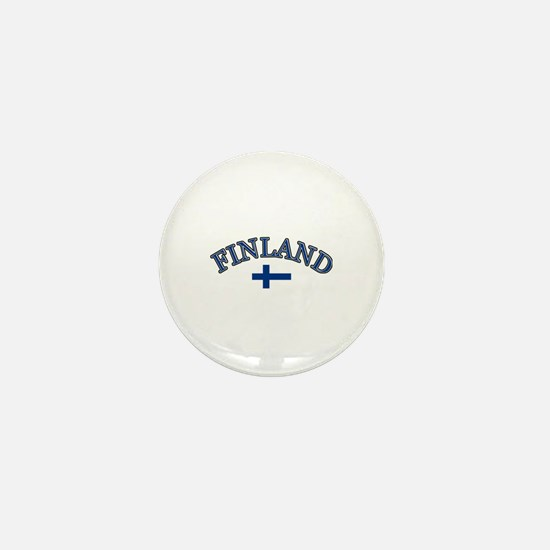 Finland Soccer Designs Mini Button